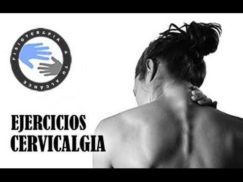 Cervicalgia, ejercicios para aliviar el dolor de cuello