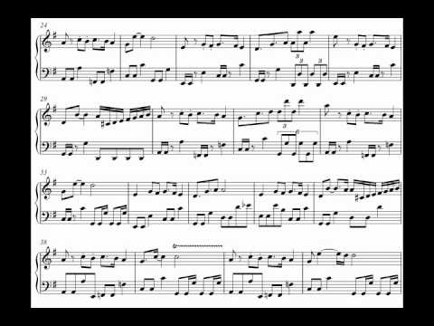 Nightwish - Crimson Tide and Deep Blue Sea on Piano [Sheet Music]
