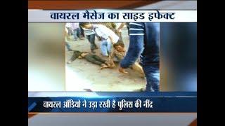 Mob brutally thrash 2 people over suspicion of child theft in Dwarka - INDIATV