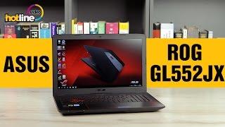 ASUS ROG GL552JX  – обзор игрового ноутбука