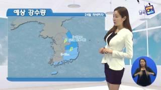 [날씨정보] 05월 24일 11시 발표_수화방송