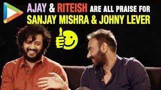 "Riteish Deshmukh: ""Ajay Devgn & Sanjay Mishra have great CHEMISTRY Because…""| Total Dhamaal - HUNGAMA"