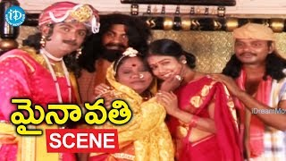Mynavathi Movie Climax Scene || Chithralekha || Anil || Gundu Hanumantha Rao - IDREAMMOVIES