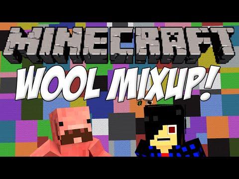 WOOL MIXUP CHALLENGE! [Minecraft: Minigame]