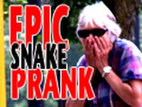 Epic Snake Prank