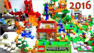 LEGO Minecraft 2016 Обзор на русском языке по игре Майнкрафт