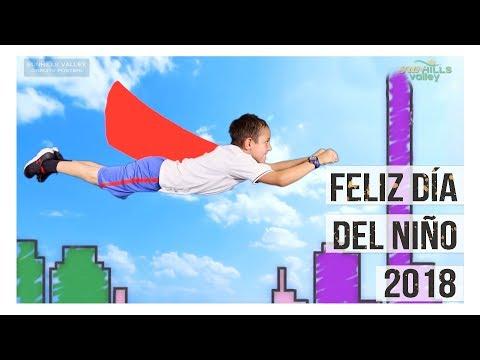 Feliz Día del Niño 2018