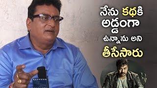 Prudhviraj Gives Clarity On Khaidi No 150 Movie Controversy | #KhaidiNo150 | TFPC - TFPC