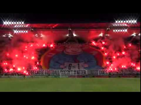 UEFA-MAIALE: LA COREOGRAFIA DEGLI ULTRAS DEL LEGIA VARSAVIA
