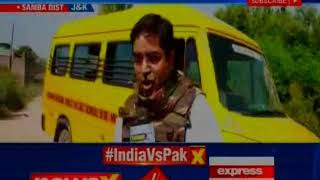 Pak Beastly Bid: On eve of Indo-Pak match, Pak shoots at BSF party - NEWSXLIVE