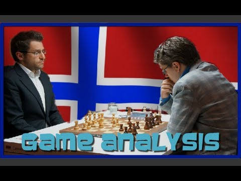 2013 Norway Chess - Levon Aronian vs Jon Ludvig Hammer - Round 6
