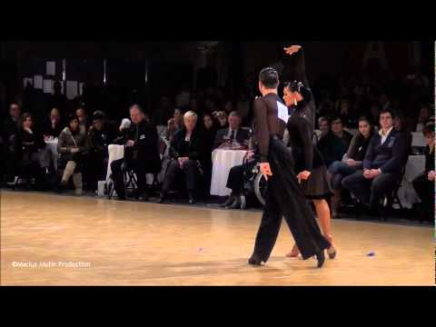 12th Antwerp Stars Cup - GrandSlam Latin - solo Rumba - Andrey Gusev &amp; Elizaveta Cherevichnaya