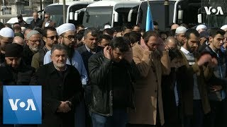 Turks Hold Symbolic Funeral for New Zealand Mosque Victims - VOAVIDEO