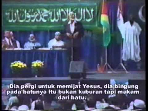 Ahmad Deedat Yesus Tidak Mati Disalib