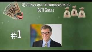 10 Cosas que posiblemente desconocias de Bill Gates
