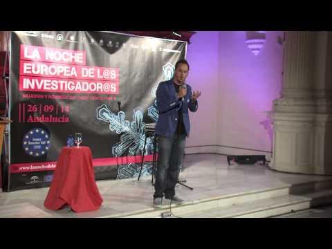 Humor y ciencia con Tomás García en La Noche Europea de los Investigadores en Jaén.