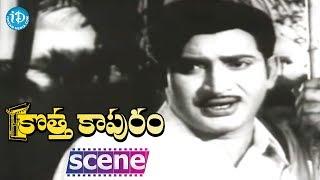 Kotta Kapuram Movie Scenes - Krishna Helps Gummadi || Chandra Mohan || Padmanabham - IDREAMMOVIES