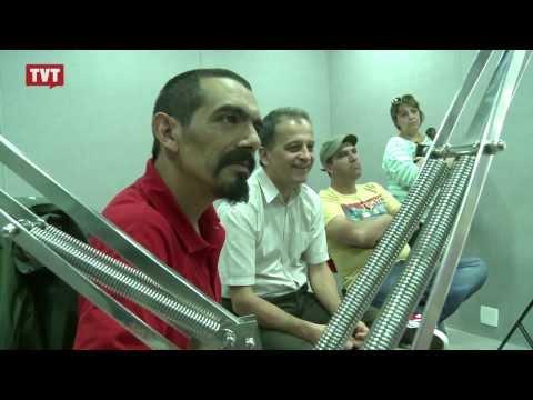 Comunicação: intercâmbio sindical com SUNCA Uruguai