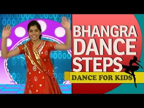 Punjabi Bhangra Dance Steps For Beginners & Kids