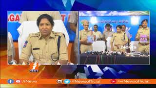 Thieves Gang Take Into custody By Police In Mahabubnagar | iNews - INEWS