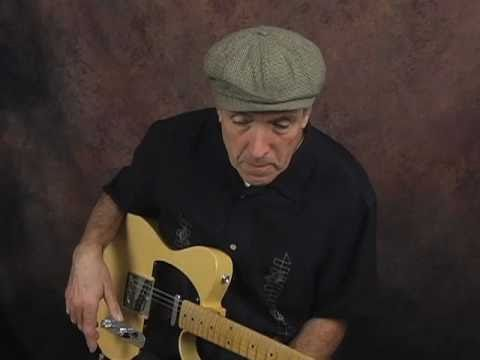 Fast Country fingerpicking guitar lesson ala Albert Lee using a Fender Telecaster