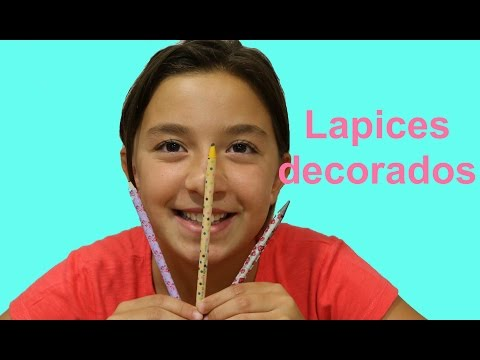 Vuelta al cole 1: Washi lápices