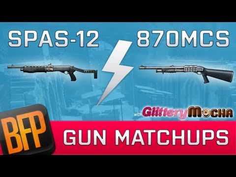 Spas-12 vs 870MCS | Gun Matchups with GlitteryMocha | Episode 6
