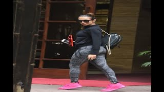 In Graphics: SEE PICS: Malaika Arora spotted at Gym - ABPNEWSTV