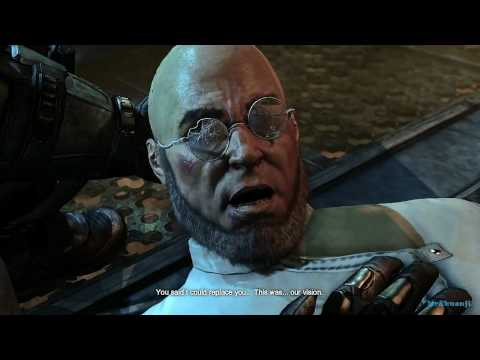 Batman: Arkham City - Hugo Strange & Ra's al Ghul - Cutscene [PS3]