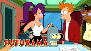 FUTURAMA | Season 10, Episode 8: 40% Bender | SYFY - SYFY