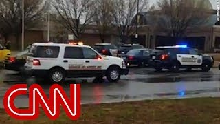 Student speaks to CNN while on lockdown - CNN