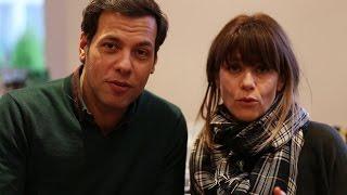 Laurent Lafitte et Marina Foïs