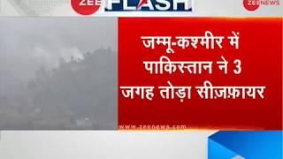 Pakistan once again violates ceasefire; by resorting to firing at Mendhar, Balakot, Poonch - ZEENEWS