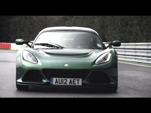 Lotus Exige S track test: 350hp,