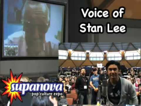 Stan Lee – live video conference fan Q&A