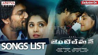 Gentleman Movie Songs List II Nani, Surabhi, Niveda Thomas, Mani Sharmaa - ADITYAMUSIC