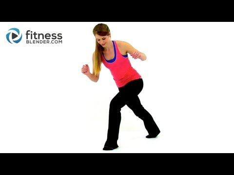 Quiet Cardio Workout - Low Impact No Bounce Recovery Cardio Workout