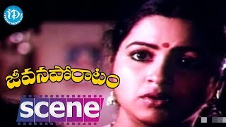Jeevana Poratam Movie Scenes - Shobhan Babu Goes To Meet Radhika || Rajinikanth - IDREAMMOVIES