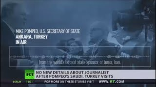 No need to rush investigation into missing Saudi journalist - Pompeo - RUSSIATODAY