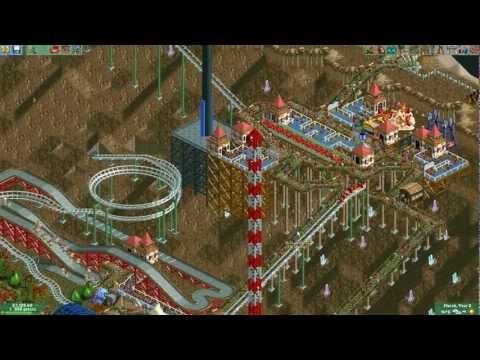 Rollercoaster Tycoon 2, odc. 3 - wypadający goście D: