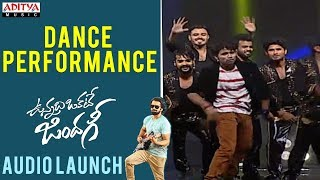 Dance Performance || Vunnadhi Okate Zindagi Audio Launch | Ram, Anupama, Lavanya, DSP - ADITYAMUSIC