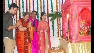 Ganpati Bappa at Govinda's home - BOLLYWOODCOUNTRY