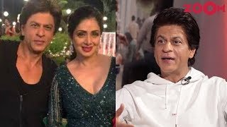 'Zero' star Shah Rukh Khan on tribute to Sridevi with her cameo in film | Exclusive Interview - ZOOMDEKHO