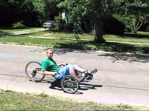 Homemade recumbent trike