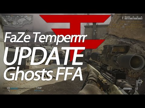 FaZe Temperrr: Ghosts FFA Sniping - Ep. 1: Update on Life