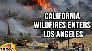 California Wildfires Enters Los Angeles | Mango News - MANGONEWS