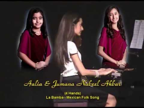 13TH PIANO RECITAL AALIA & JUMANA AKBAR  MARY GRACE DE SILVA's STUDENT
