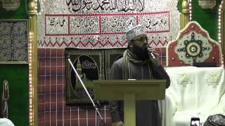 Sajid Qadri 2012 Annual Milad at Jamia Masjid Tunstall