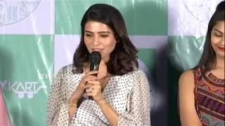 Samantha Akkineni At LAUNDRY KART Mobile App Launch | TFPC - TFPC