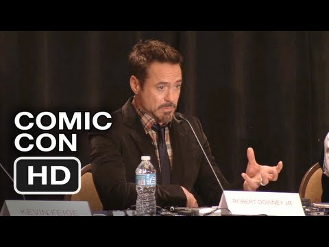 Iron Man 3 Comic Con Panel and Interviews (2012) - HD Movie
